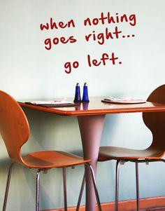inspirational words wallstick stickers