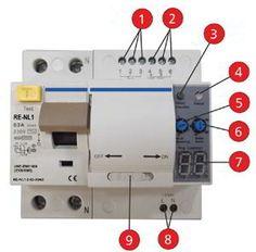 Resultado de imagen para interruptor diferencial con rearme automatico