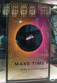 #psytrance #psychedelic #trance #festival #visionary Window Display Retail, Window Display Design, Retail Displays, Frame Display, Shoe Display, Pos Design, Nike Design, Circle Design, Design Room