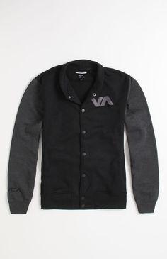 RVCA Grabber Varsity Fleece Jacket