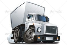 Vector Cartoon Cargo Truck  #GraphicRiver         Available hi-res JPG , AI-10 and EPS vecotr formats separated by groups and layers for easy edit. More cartoon cars and transportation illustrations see in my portfolio   Also you can check at my Collections:  Vector Cartoon Cars  Vector Cartoon Trucks  Detailed Vector Cars modern and retro  Detailed Vector Trucks Vans Tractors and Pickups  Detailed Vector realistic and cartoon styled Buses  Vector aircrafts, airplanes, retro, modern…
