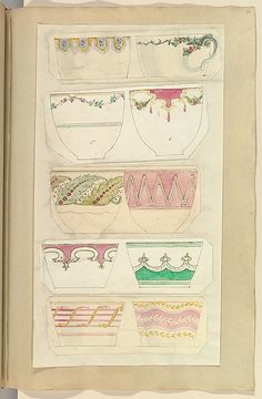Alfred Henry Forrester [Alfred Crowquill] | Ten Designs for Decorated Cups | The Metropolitan Museum of Art