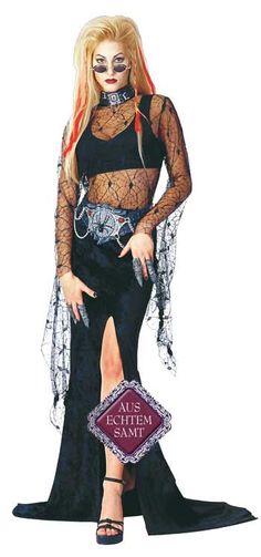 Blutrausch Witwe Kostüm für Halloween | horror-shop.com