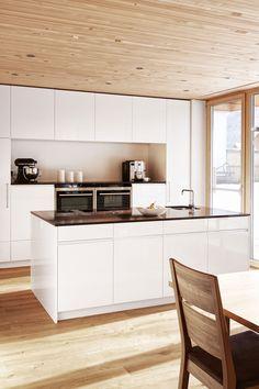 massivholz arbeitsplatte k che rezeptb cher k chenschr nke aus holz k che pinterest k che. Black Bedroom Furniture Sets. Home Design Ideas