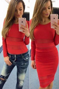 Krásna sukňa s vysokým pásom vhodná ku Galga Bodysuit.95%  polyamid, 5% elastán