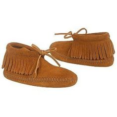Minnetonka Children's Fringe Boot Softsole Suede Boots,Brown Suede,7 M (Apparel)  http://www.2hourday.com/amz/bestseller.php?p=B0009O807W  #brogues #moccasins #flip flops #stilettos #skechers