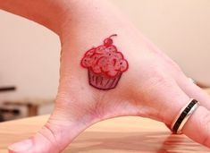 Little Cupcake Tattoo