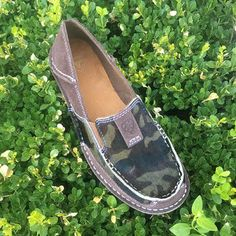 4756b12030a Women s Hair On Camo Print Chocolate Chip Suede Ariat Casual Shoe