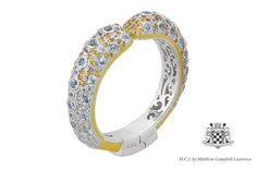 M.C.L by Matthew Campbell Laurenza Bubble Hinge Bangle from Manhattan Collection. #mcl #mcldesign #jewelry #fashion #bangle #bracelet