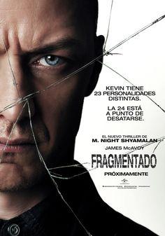 Fragmentado (Split) con James McAvoy, es una película de suspenso y terror psicológico dirigida por M. Night Shyamalan. Sinopsis Mientras las divisiones mentales de aquellos con desorden d múltiple…