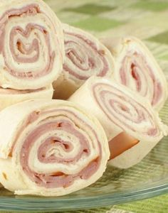 Ham and Cheese Pinwheels, I add chopped green onions, a little miracle whip and Ranch dressing to my cream cheese.