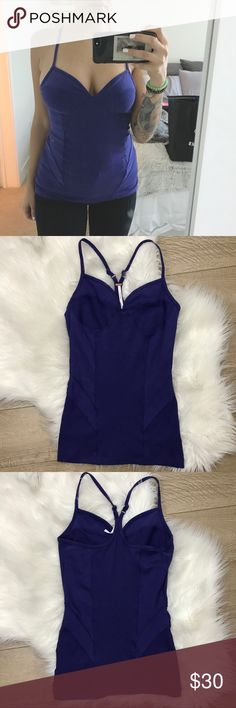 Free People Purple Racerback Camisole Tank Free People Purple Camisole Top   • Size Small • Adjustable/Racerback Straps  • In excellent condition; no stains, holes, or flaws.  • Save 10% on bundles of 2 or more items Free People Tops Camisoles