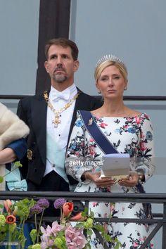 Princess Marie-Chantal and Crown Prince Paul of Greece Princesa Real, Princesa Diana, Casa Real, Royal Tiaras, Royal Jewels, Olympia, Marie Chantal Of Greece, Greek Royalty, Greek Royal Family