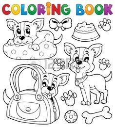 45 Mejores Imágenes De Perros Imprimir Pintar Colorear En 2018