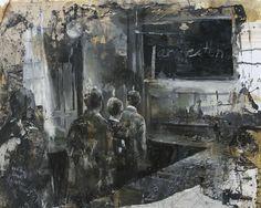 "Daniel Pitin - ""Scholars"", 2011, oil on canvas, 24 X 31.5 in"