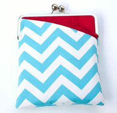 Cheery blue chevron ipad case. I don't have an iPad but I love this case.