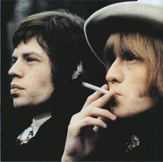Mick Jagger and Brian Jones, The Rolling Stones