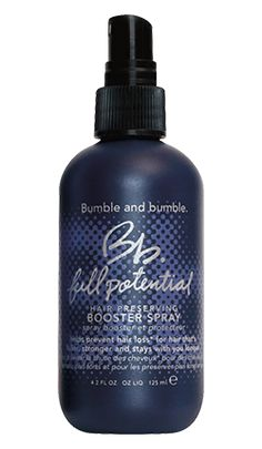 Bb. Man Full Potential Booster Spray, $60. For thinning hair, a product that encourages hair growth and doesn't weigh down hair in the process is key.
