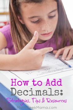 How to Add Decimals: Simple Strategies & Tips
