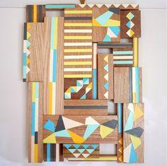 Beautiful timber Stampel wall hanging