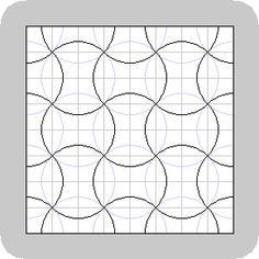 apple core quilt pattern graph - Google Search