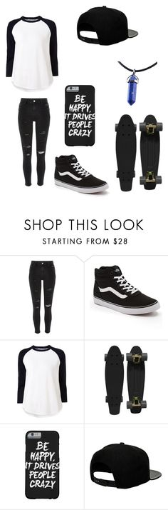 """Untitled #92"" by darksoul7 on Polyvore featuring River Island, Vans, Alexander Wang, Retrò and '47 Brand"