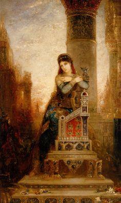 Desdemone by Gustave Morreau