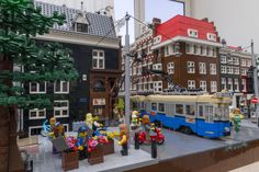 Amsterdam in Lego 'The Art of Brick' at Amsterdam Expo opens Thursday May 29 2014 http://www.amsterdamexpo.nl/en/art-brick/