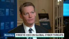 """FireEye CEO Kevin Mandia discusses rising threats, spending on cybersecurity, and Russian cyber attacks. He speaks with Caroline Hyde on """"Bloomberg Technology"""" from the Goldman Sachs Technology and Internet Conference in San Francisco. Caroline Hyde, Cyber Threat, Cyber Attack, Russia, Internet, Change, History, Sayings, Historia"""