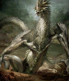 Dragon Concept Art by Gloria Shih