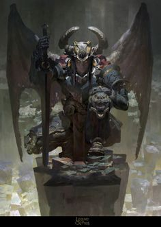 Orcus ,Necrodemon by Ruan Jia