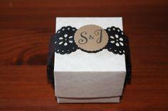 wedding favor box handmade