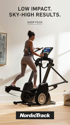 Experience interactive personal training and live workouts at home with NordicTrack. Weight Loss Meals, Healthy Weight Loss, Health Tips, Health And Wellness, Health Fitness, Running Tips, Running Watch, Planer, At Home Workouts
