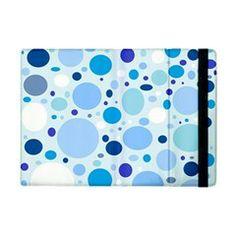 Bubbly Blues Apple iPad Mini Flip Case from Stuff Or Something
