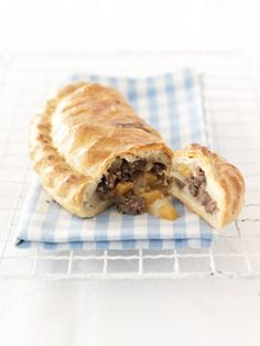 The Cornish Pasty, only pasty's made by someone Cornish by the proper recipe can be considered as a Cornish pasty by the Cornish.