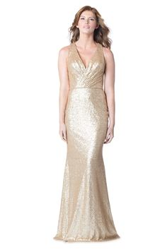 Glitter and Sequin Bridesmaid Dresses - New for Spring  2016! We love the Bari Jay Bridesmaid Dress 1601. Bridesmaid Gown, Bari Jay Collection