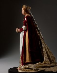 Queen Isabella, 1492-Figure from the George S. Stuart collection.