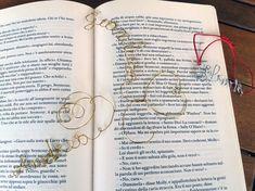 Idea regalo fai da te: Scritte con filo di ferro: bracciali e segnalibro - Genitorialmente #handmademothersday e #TheCreativeFactory