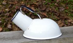 Enamelware urinal. Auction $3.00