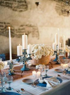 Rustic and wonderful with the touches of blue! ;)