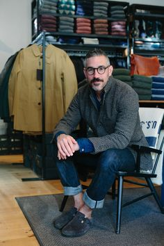 owner of Unionmade Todd Barket in San Francisco / photo by Kim A. Thomas