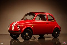 Fiat 500 Ferrari Tribute - Kindigit Design of SLC.