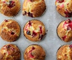 Cranberry Orange Muffins - Dinner With Julie No Bake Treats, No Bake Desserts, Cranberry Orange Muffins, Bacon Jam, Easy Banana Bread, Baking Muffins, Easy Healthy Breakfast, Breakfast Meals
