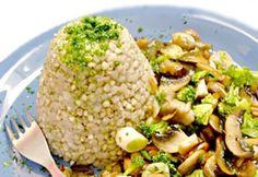 Rizoto z pohanky je kouzelnou variací na oblíbený pokrm.
