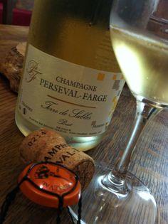 Un Champagne exceptionnel de la Maison Perseval -Farge la Cuvée Terre de Sables Brut 1er Cru #champagne #caveosaveurs