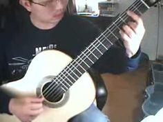 Prelude No.11 in D Major (Francisco Tárrega) Guitar: ROMERIGO 11A 2008