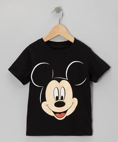 Take a look at this Black Mickey Mouse Face Tee - Infant & Toddler by Freeze on #zulily today!
