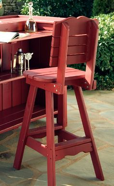 callie patio bar stool w back