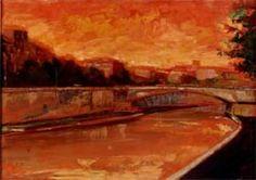 UgoAttardi(Sori, 12 marzo 1923 – Roma, 20 luglio 2006) Le luci del Tevere