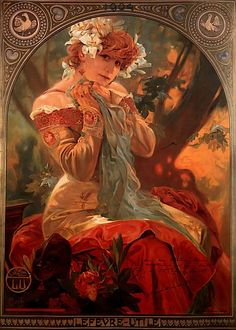 Lefevre Utile by Alphonse Mucha, 1903